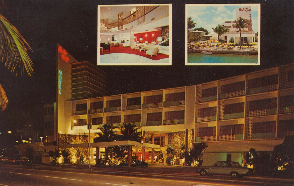Moulin Rouge Resort Motel - Miami Beach, Florida