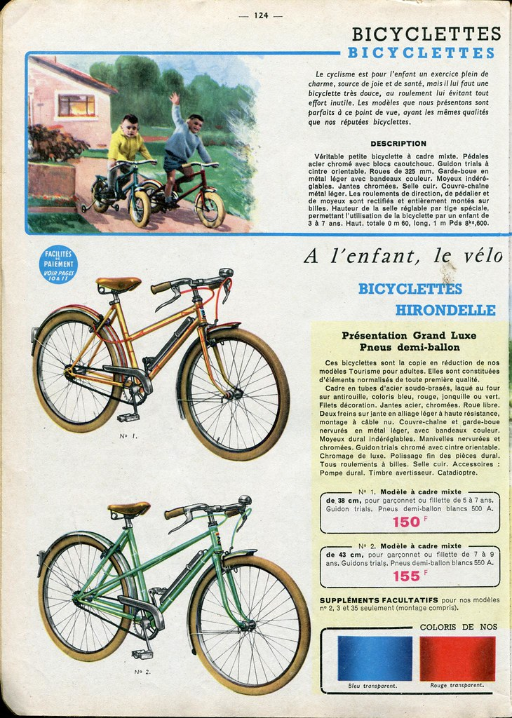 manufrance catalog 1963 64 page 124 zaz von schwinn flickr. Black Bedroom Furniture Sets. Home Design Ideas