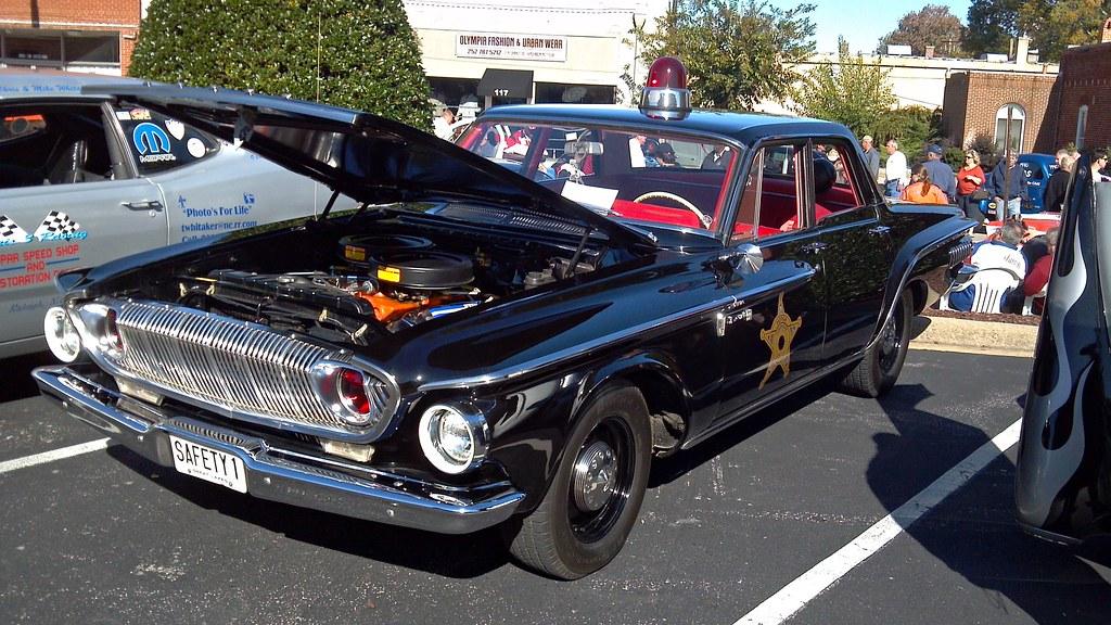 Classic 1962 Dodge Dart Police Car Mitch Prater Flickr