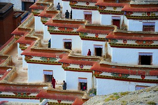 Kumbum chorten at Gyantse, Tibet | by reurinkjan