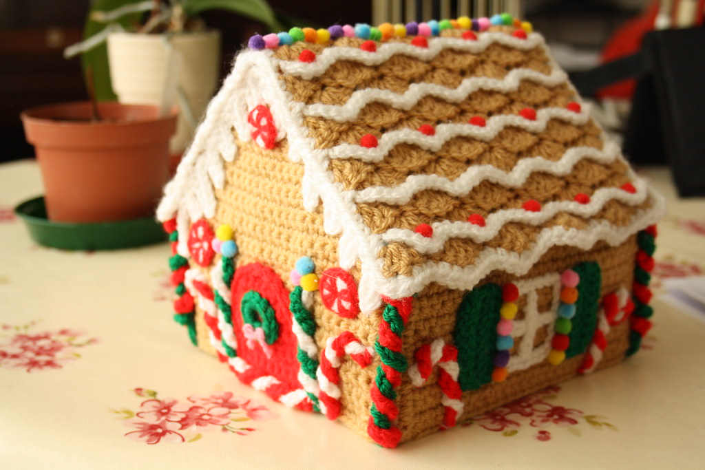 Gingerbread man house | Trying out a fab pattern I found! | Flickr