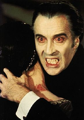 Christopher Lee as Dracula | by Paxton Holley