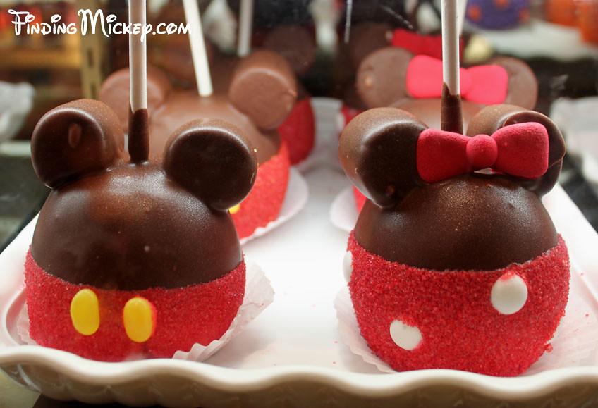 Mickey Minnie Apples