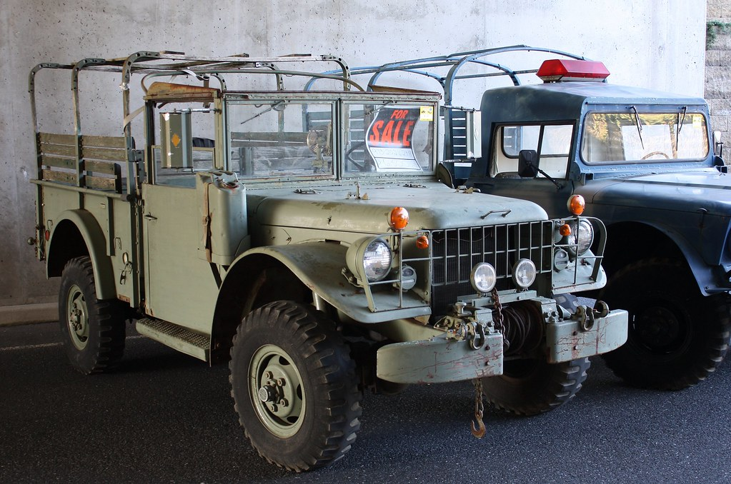1954 Dodge M37 Military truck | Not sure of the year? | Flickr