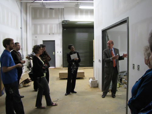 "Waite Rawls gives a ""behind-the-scenes"" look at the on-site Collections vault 