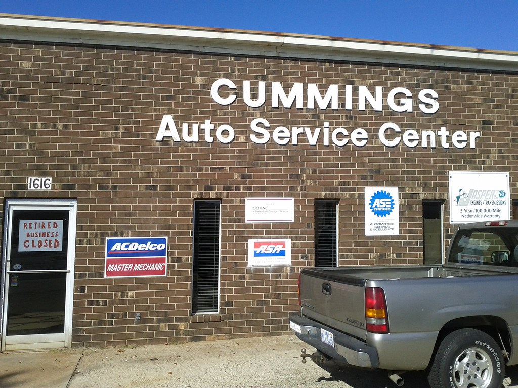 cummings auto service center closed after 40 great. Black Bedroom Furniture Sets. Home Design Ideas