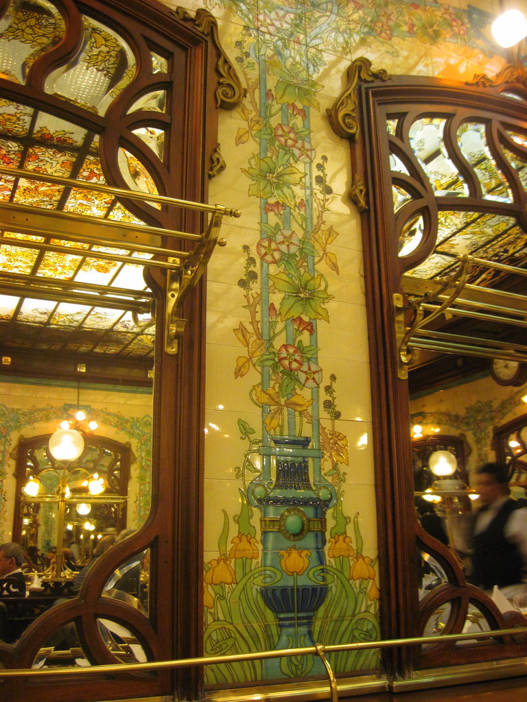 Montparnasse 1900 restaurant art nouveau interior archit flickr - Architect binnen klein gebied paris ...