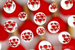 Heart Bubbles | by CatMacBride
