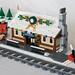 Winter Village Train Depot