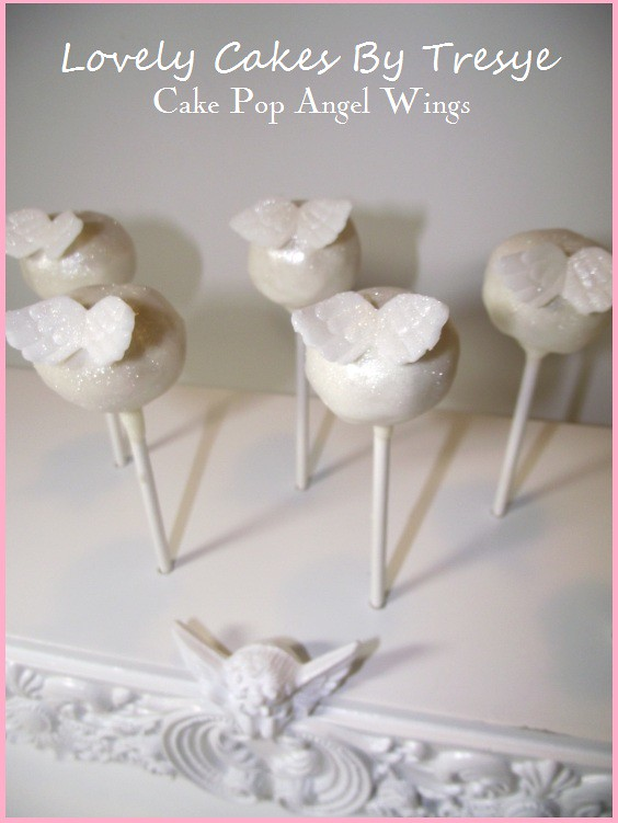 Angel Wing Cake Pops Made For A Funeral The Angel Wings