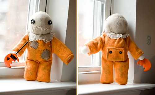 Sam Plush - Front/Back | by Suzannah Ashley