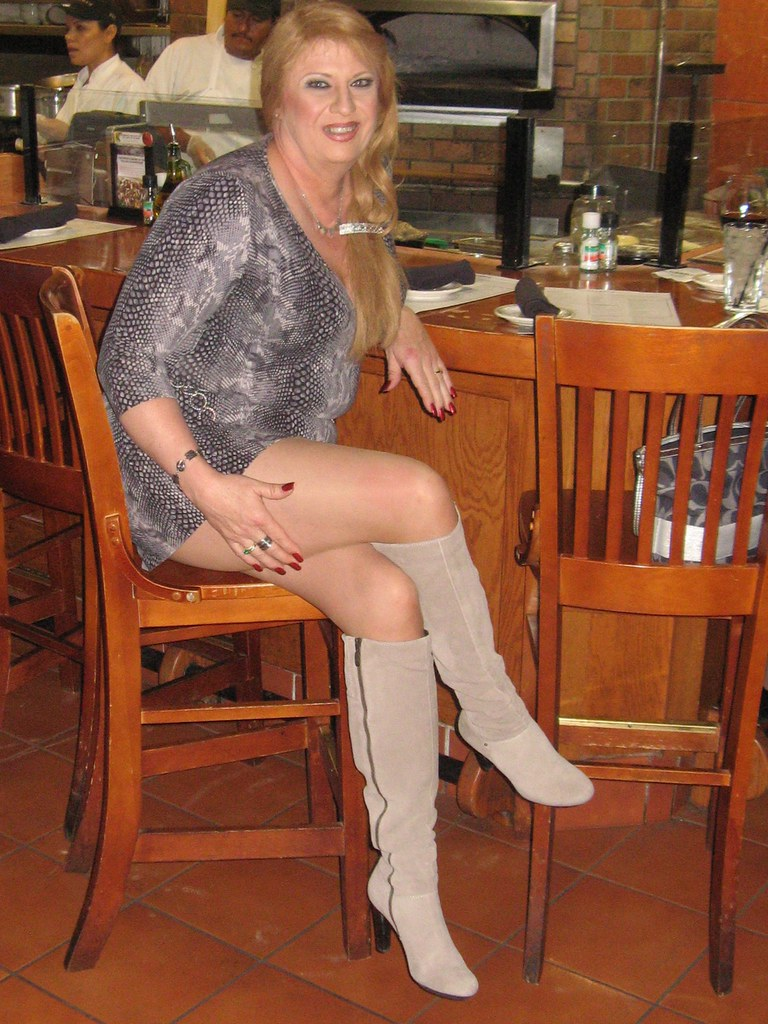 Mature Women In Thigh Boots
