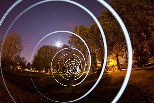 Super String Theory (Light Painting), Mill End | by flatworldsedge