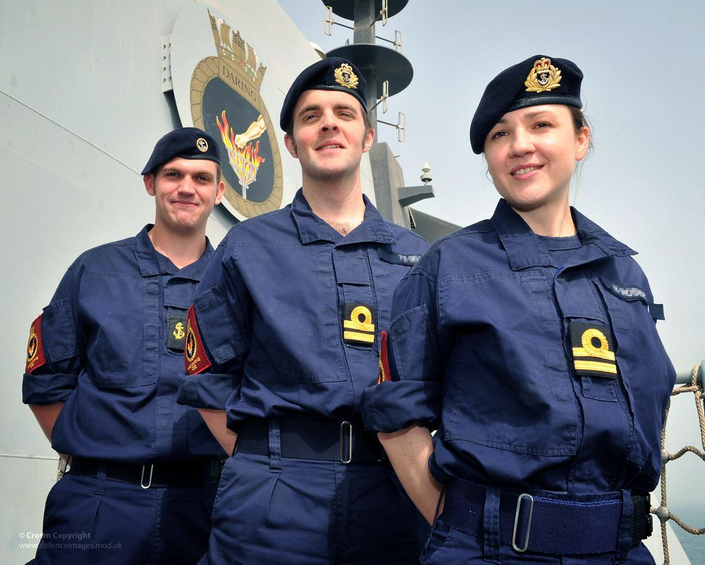 Royal Navy Sailors Wearing The Personal Clothing System P
