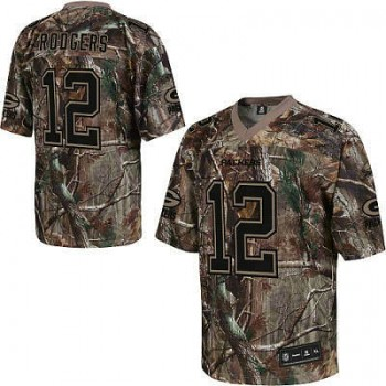 release date: 76d8e 7cb5a Green Bay Packers #12 Aaron Rodgers Realtree Camo Jersey ...