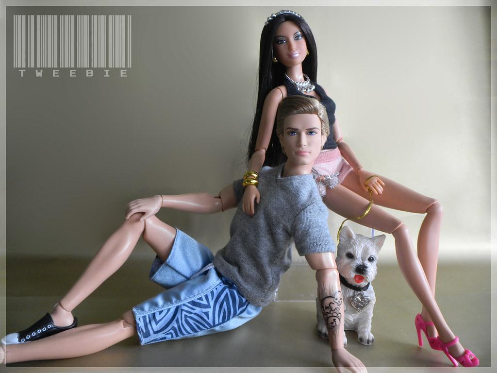 bb 2521 goddess amp hd ken with dog dior ��tweebie�� flickr