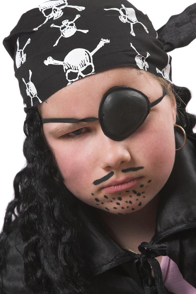 Пиратский макияж