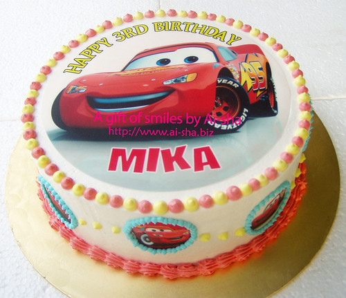Edible Cake Images Cars : Birthday Cake Edible Image Disney Cars Cake Cupcakes ...