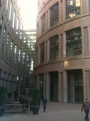 Outdoor Entrance to Library Atrium