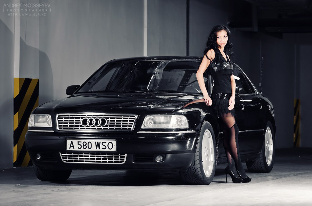 Audi A8 And The Girl Andrey Moisseyev Flickr