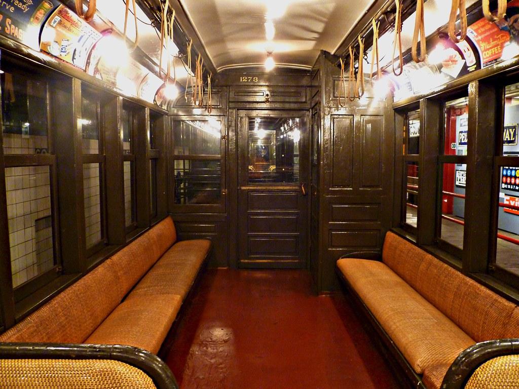 R New York City Subway Car