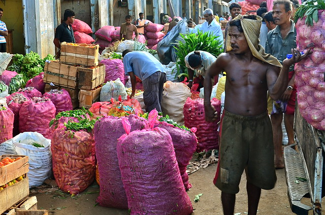 Dambulla food market