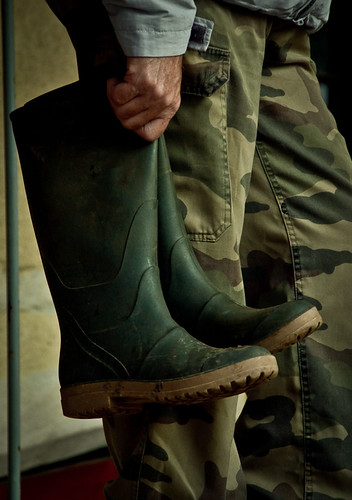 Boots - Burgundy Grape Harvest 2011 | by The Hungry Cyclist