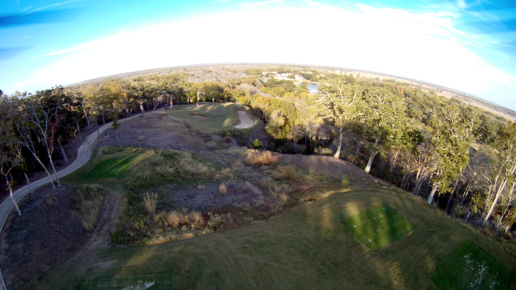 12th Hole Looking Down On Lost Pines Resort Bastrop