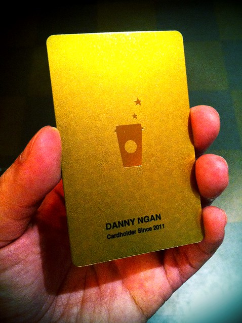 how to add gold card to starbucks app
