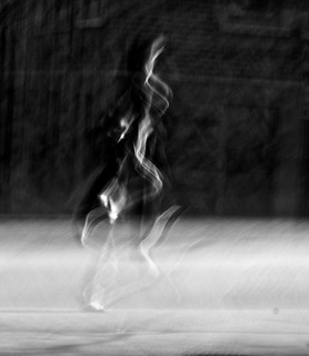 woman running towards a dream | by paolobarzman