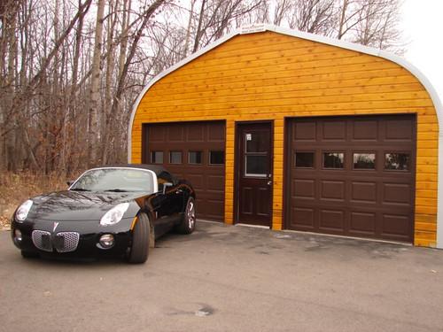 Quonset Hut Garage : Steelmaster garage