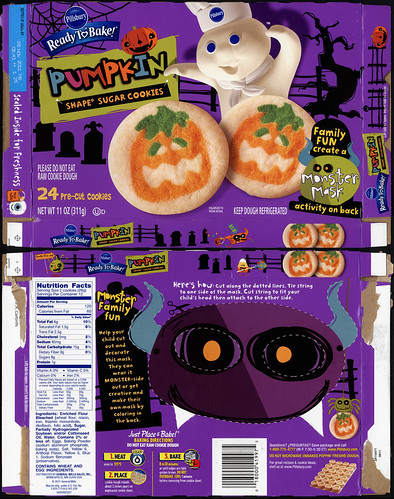 Pillsbury - Ready-to-Bake - Target-exclusive Pumpkin Shape ...