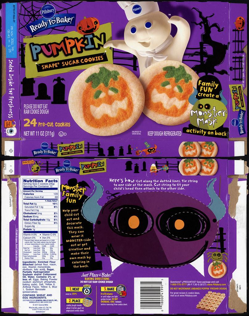 pillsbury ready to bake target exclusive pumpkin shape sugar cookies