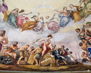 Apotheosis of Washington: Commerce | by USCapitol