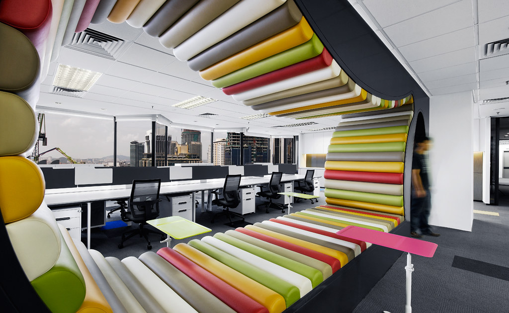 Creative office design by M Moser Associates M Moser Associates