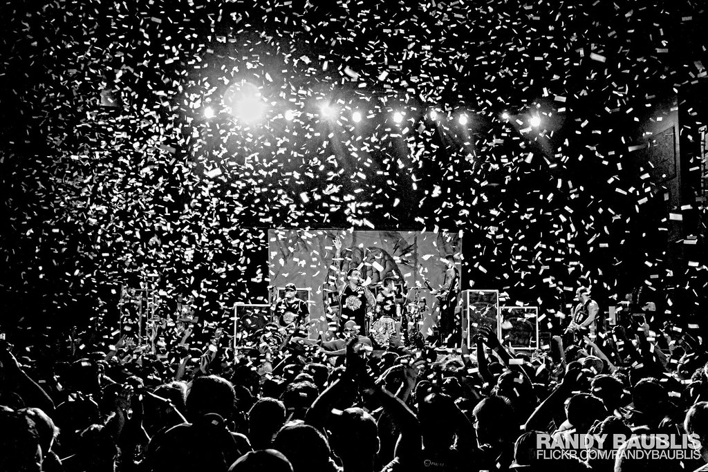 confetti blast new found glory on the pop punk s not dead flickr