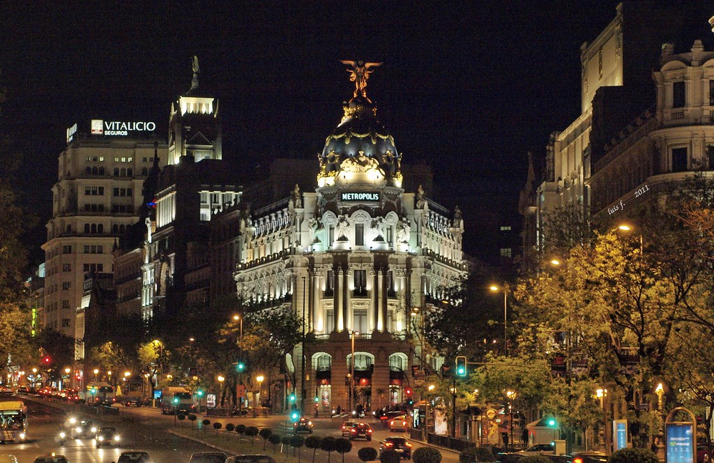MADRID (GRAN VIA) | Madrid (EspaÑA) | LUIS FELICIANO | Flickr Madrid