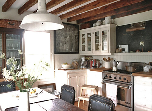 Laura Resen {rustic eclectic vintage industrial modern kitchen} | by recent settlers