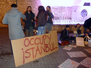 occupy istanbul november 5th 2011 | by mythones