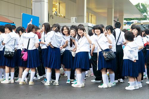 Japanese Girls - School | Max Mayorov | Flickr