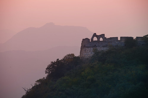 Great Wall in the Evening Light | by Stuck in Customs