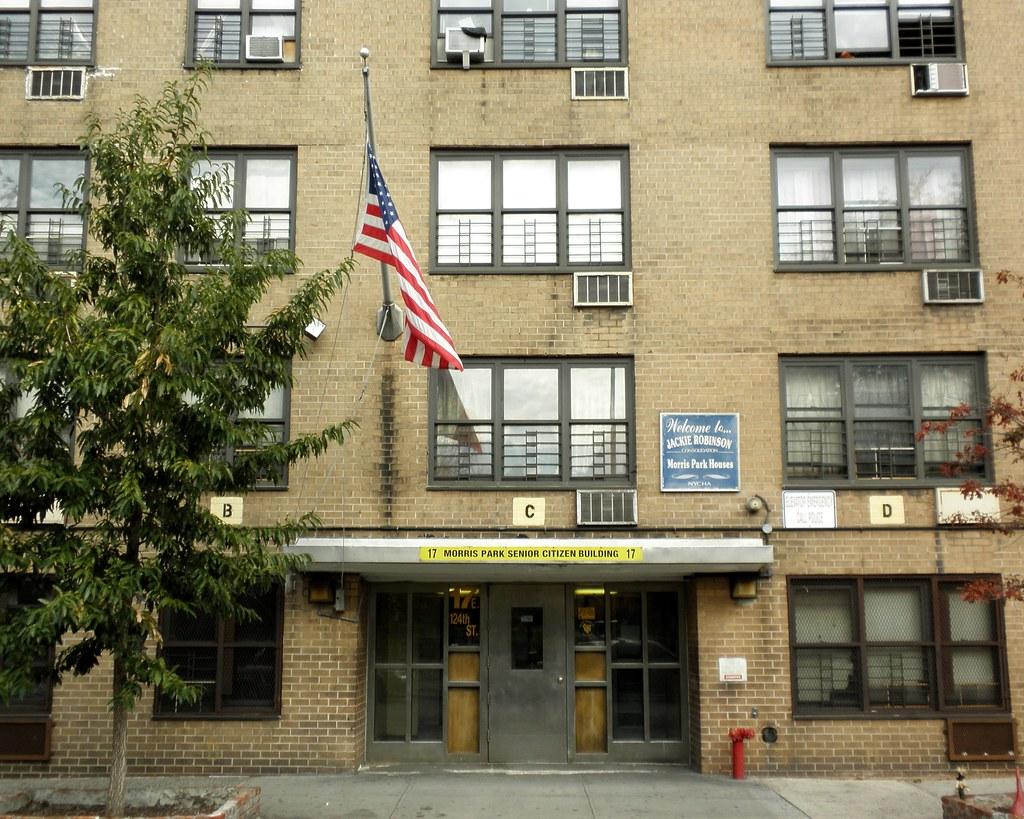 ... Morris Park Senior Citizens Building, East Harlem, New York City | By  Jag9889