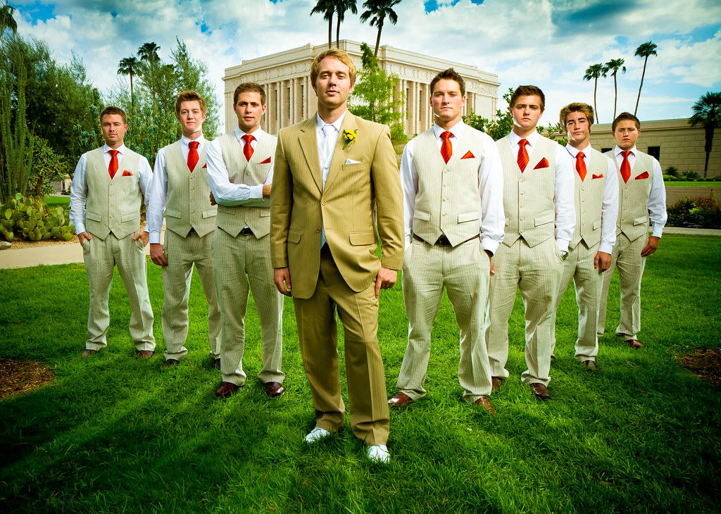Groomsmen Group Photo Groomsmen Group Photo From A