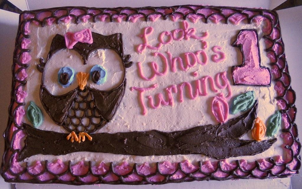 Halloween Birthday Cookie Cake