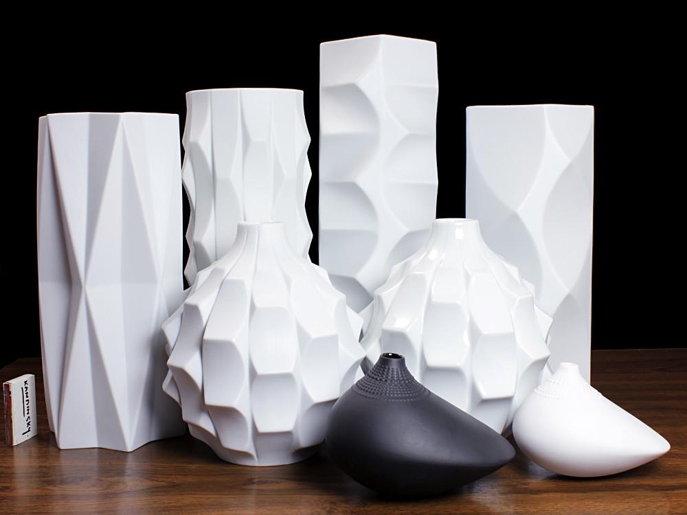 Heinrich Fuchs Sculptural Vases Archais Series Mid Century Flickr