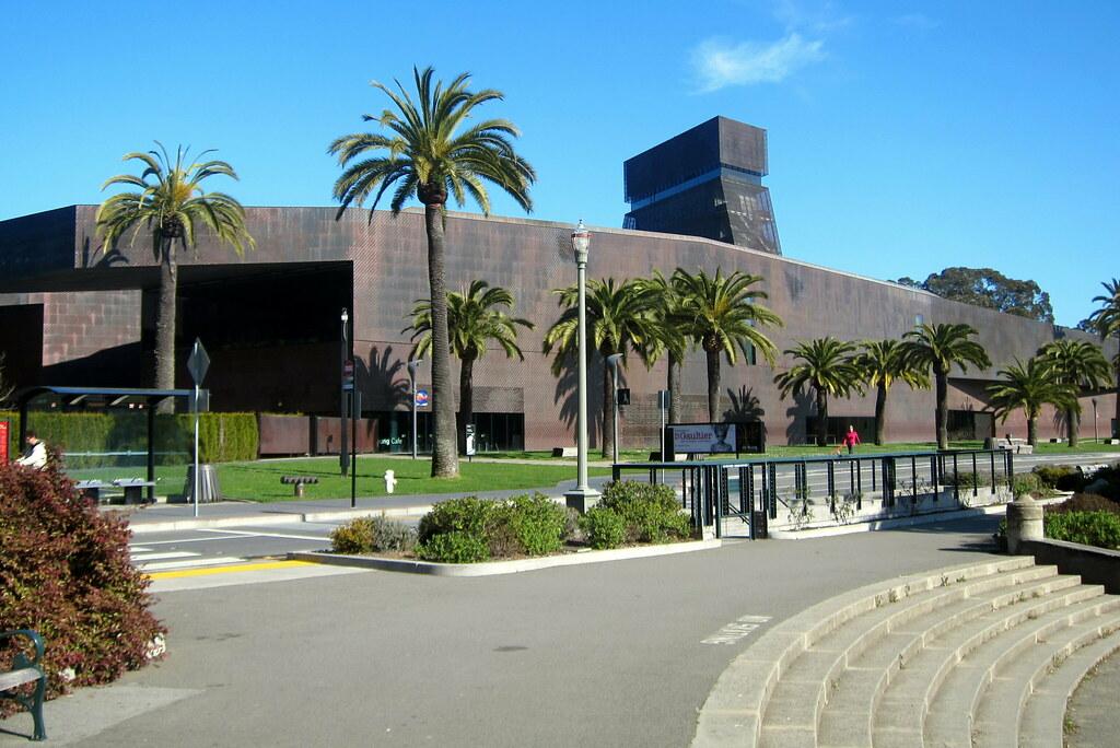 San francisco golden gate park m h de young memorial for San francisco new museum