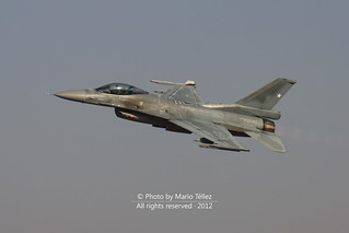 Lockheed Martin F-16CJ Fighting Falcon | by Mario Téllez C.