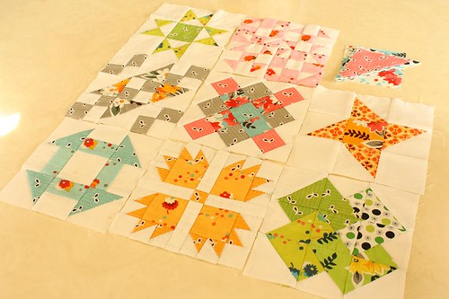 Hand Pieced Quilt-A-Long Blocks 1-8 | by Erin @ Why Not Sew? Quilts