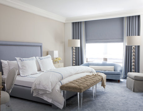 calm gray or greige blue bedroom 39 swiss coffee 39 by benj. Black Bedroom Furniture Sets. Home Design Ideas