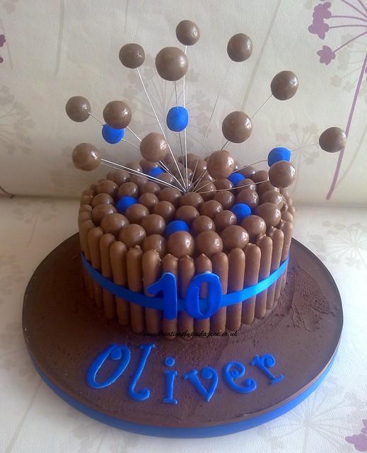 Cake Art Creations By Jane : Blue Malteser Cake Flickr - Photo Sharing!